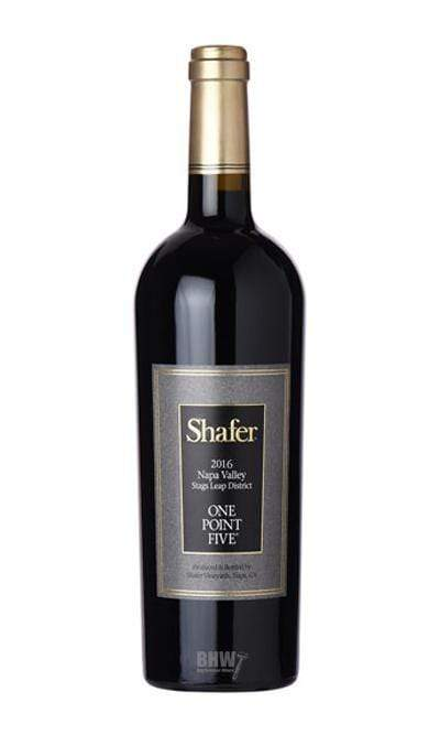 2016 Shafer One Point Five Cabernet Sauvignon (Stags Leap District) Napa - bighammerwines.com