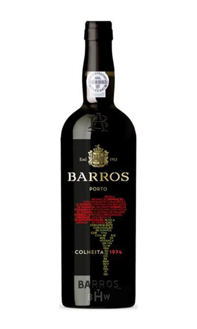 Sweet WIne - 1974 Barros Colheita Port 375ml