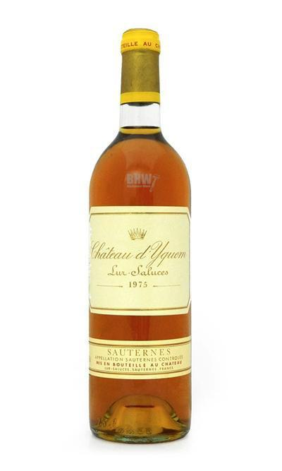 Sweet WIne - 1975 Ch. D'Yquem