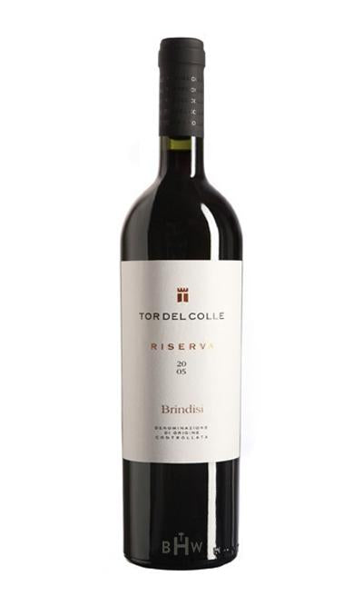 bighammerwines.com Red 2014 Tor del Colle Brindisi DOC Riserva