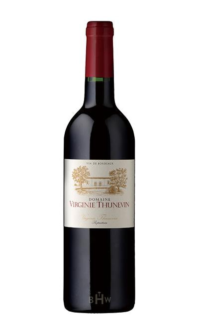 MHW Red 2016 Domaine Virginie Thunevin Bordeaux Rouge