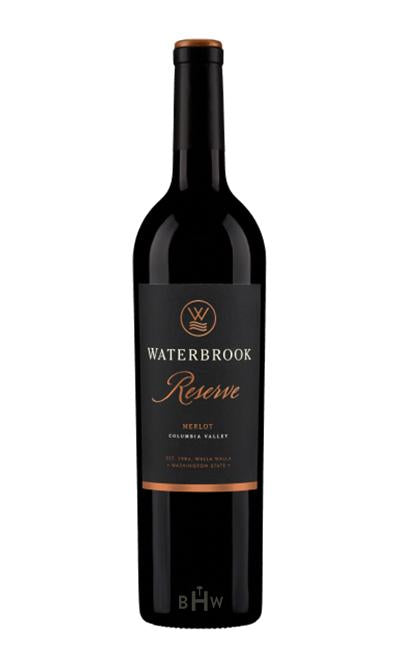 SWS Red 2015 Waterbrook Merlot Reserve Columbia Valley