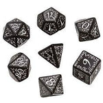 QWorkshop Black and White  Elvish Dice