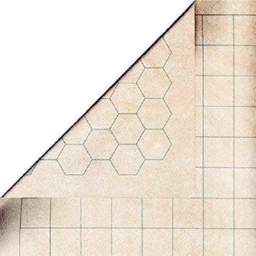 "Chessex Reversible Battlemat 1 1/2"" Squares and Hexes"