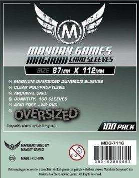 "Mayday Sleeves: Magnum ""Munchkin Dungeon Size"" (Ordinary)"