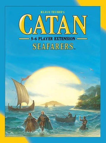 Catan : 5-6 Player Seafarers Expansion