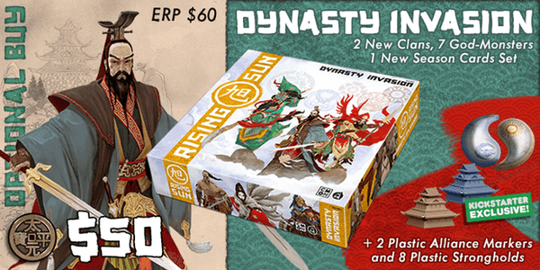 Rising Sun KS Edition Add-on - Dynasty Invasion