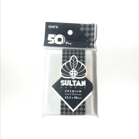Sultan Supply Premium Card Sleeves: 63.5 x 88 Standard Onyx