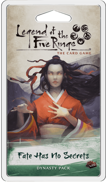 Legend of the Five Rings: Fate Has No Secrets expansion