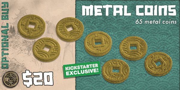 Rising Sun KS Edition Add-on - Metal Coins