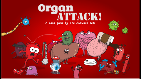 Organ ATTACK! sleves