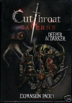 Cutthroat Caverns Expansion Pack 1: Deeper and Darker