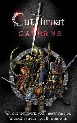 Cutthroat Caverns: A Game of Teamwork and Betrayal