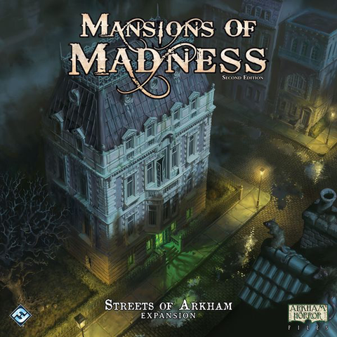 Mansions of Madness Second Edition : Streets of Arkham Expansion