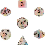 Chessex: Festive Circus/Black Die Polyhedral Set