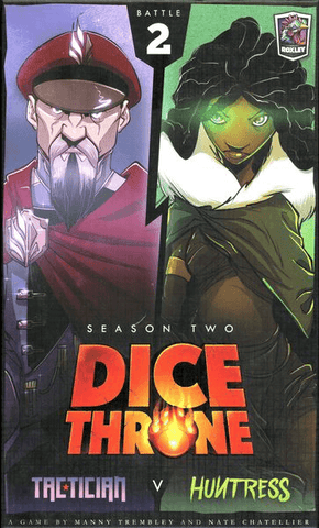 Dice Throne: Season 2 Box 2 - Tactician vs Huntress