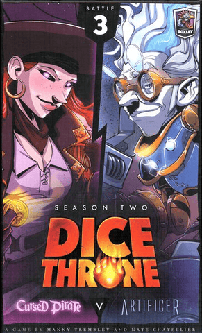 Dice Throne: Season 2 Box 3 – Cursed Pirate v. Artificer