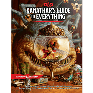 Dungeons & Dragons 5th Edition RPG : Xanathar's Guide to Everything