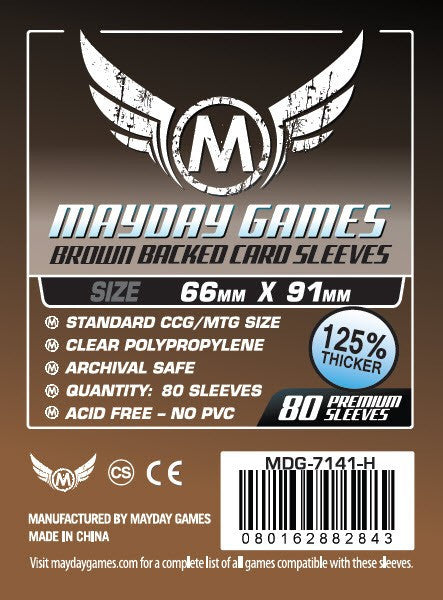Mayday Sleeves: MTG Pro (BROWN)