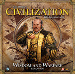 Wisdom and Warfare expansion for Sid Meier's Civilization: The Board Game