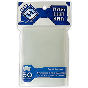 FFG Standard Clear Card Game Sleeves