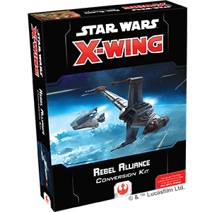 X-Wing 2nd Ed: Rebel Alliance Conversion