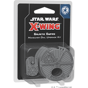 X-Wing 2nd Ed: Galactic Empire Maneuver Dial Upgrade