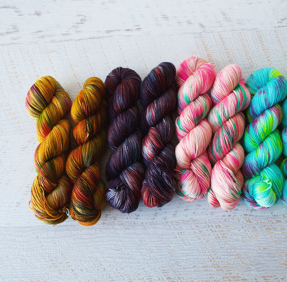 New Colourways and a Few Old Favourites - Friday 15th January