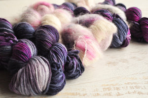 Mohair Silk Lace and Voyage DK- Friday 6th July