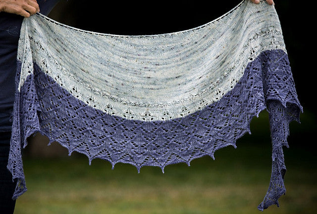 New Shawl, Sock Kits and New Colourways!