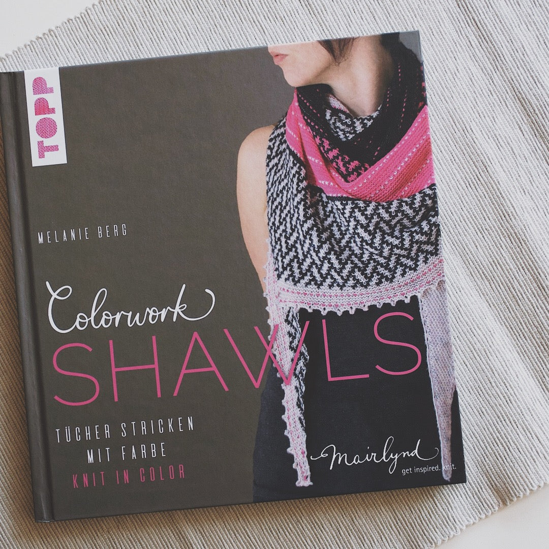 New Book Release - Colorwork Shawls by Melanie Berg
