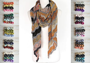Pattern Crush - Lamina Wrap by Ambah O'Brien