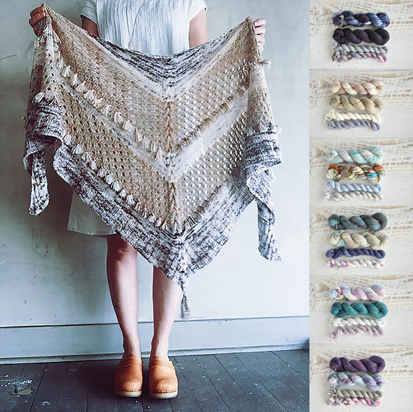 Pattern Crush - Ohra shawl