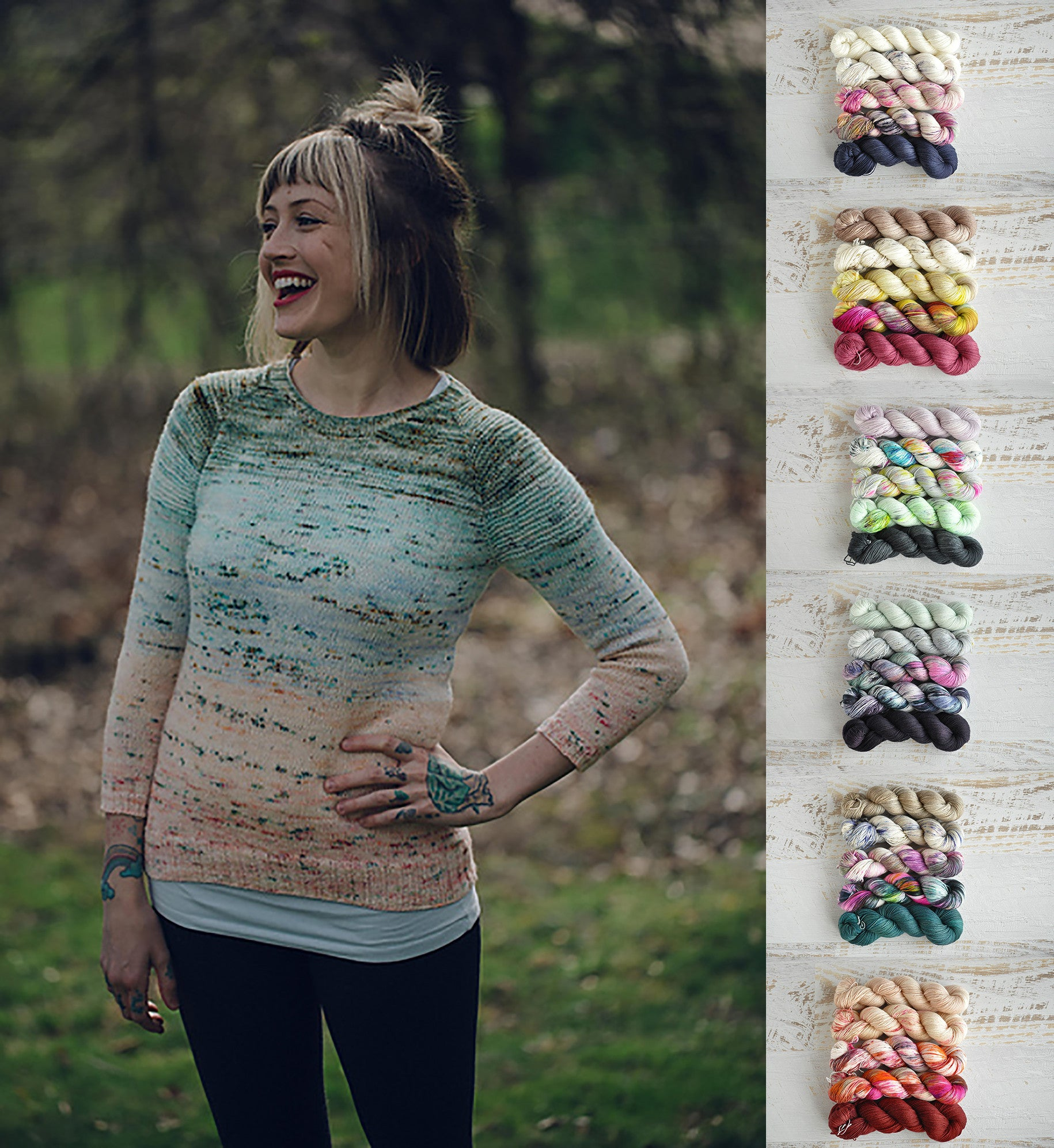 e059fb11a224af Pattern Crush - So Faded by Andrea Mowry - Skein