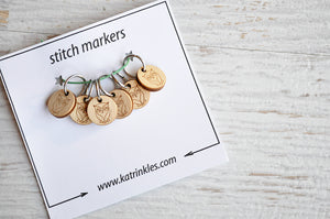 Ring Stitch Markers by Katrinkles