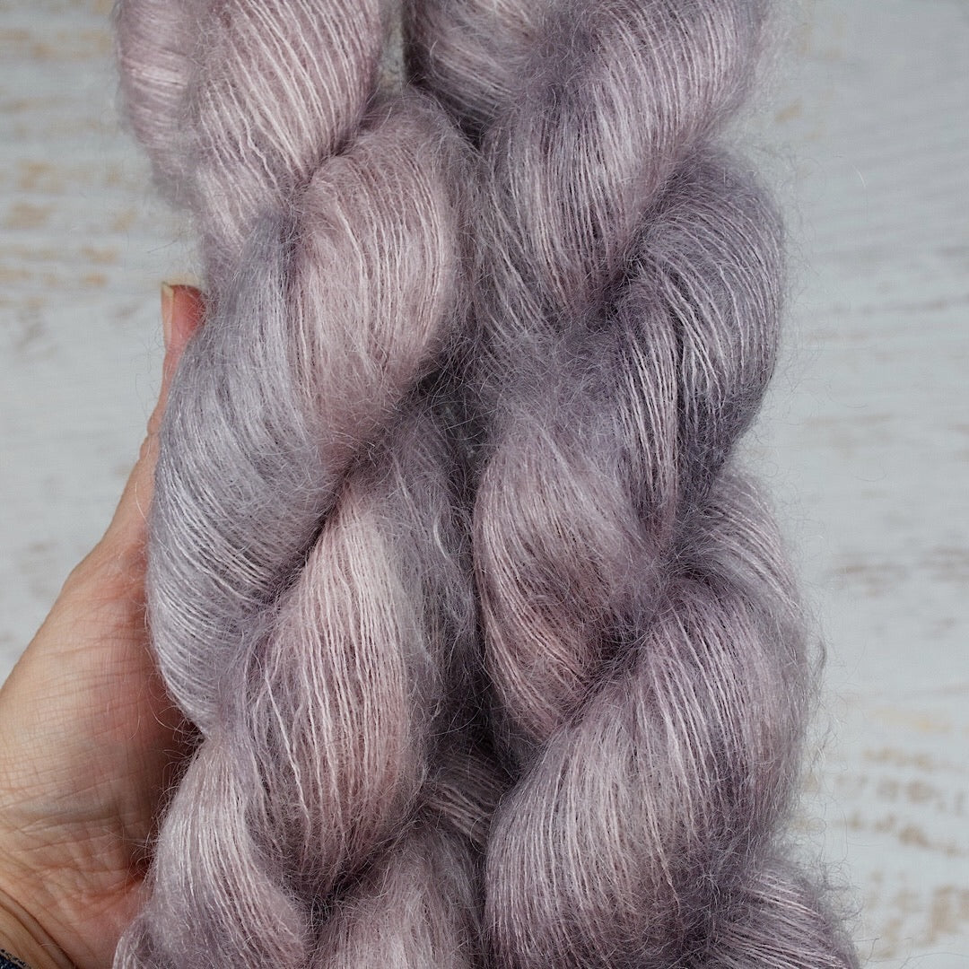 Marshmallow - Mohair Silk Lace