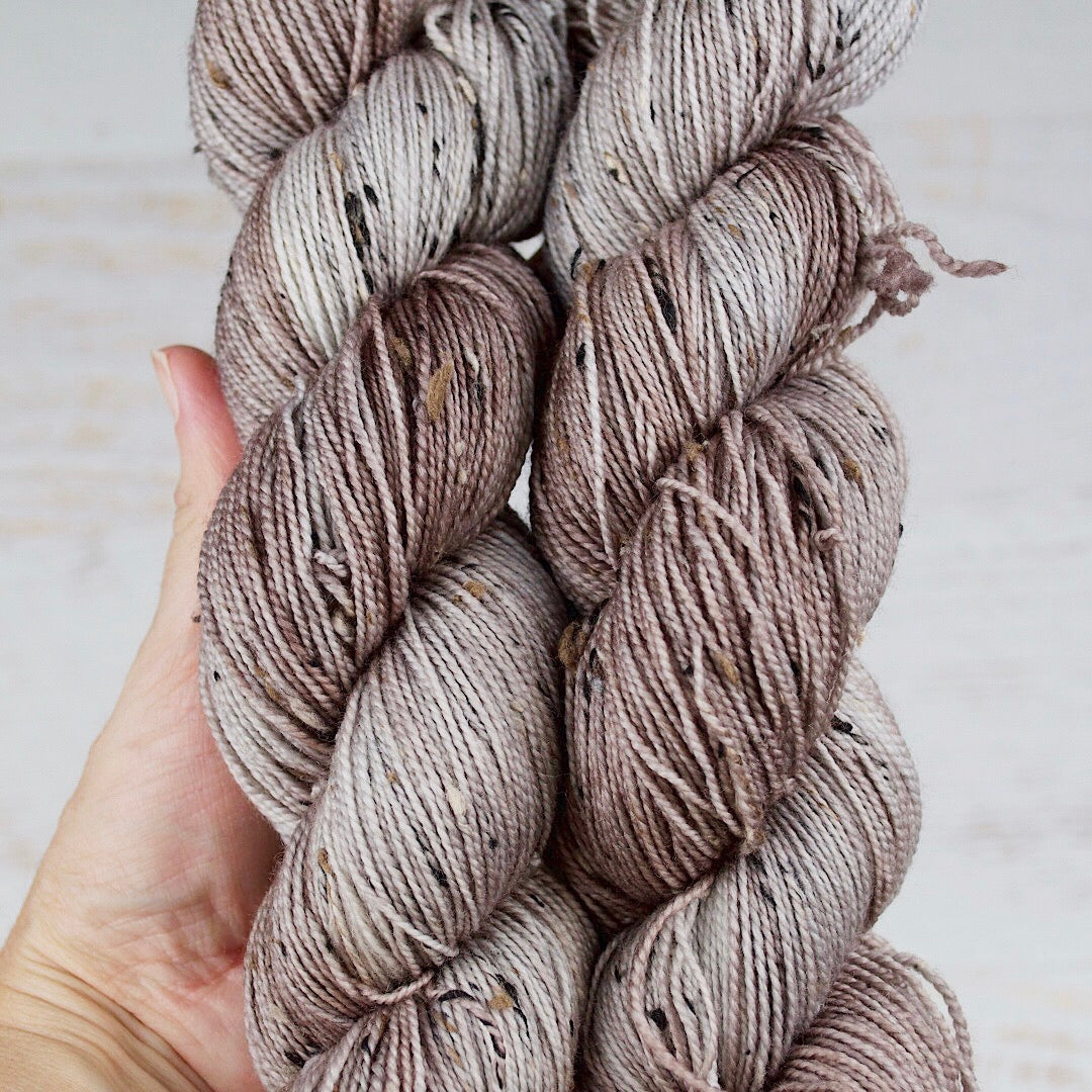 Silver Bark - Donegal Sock