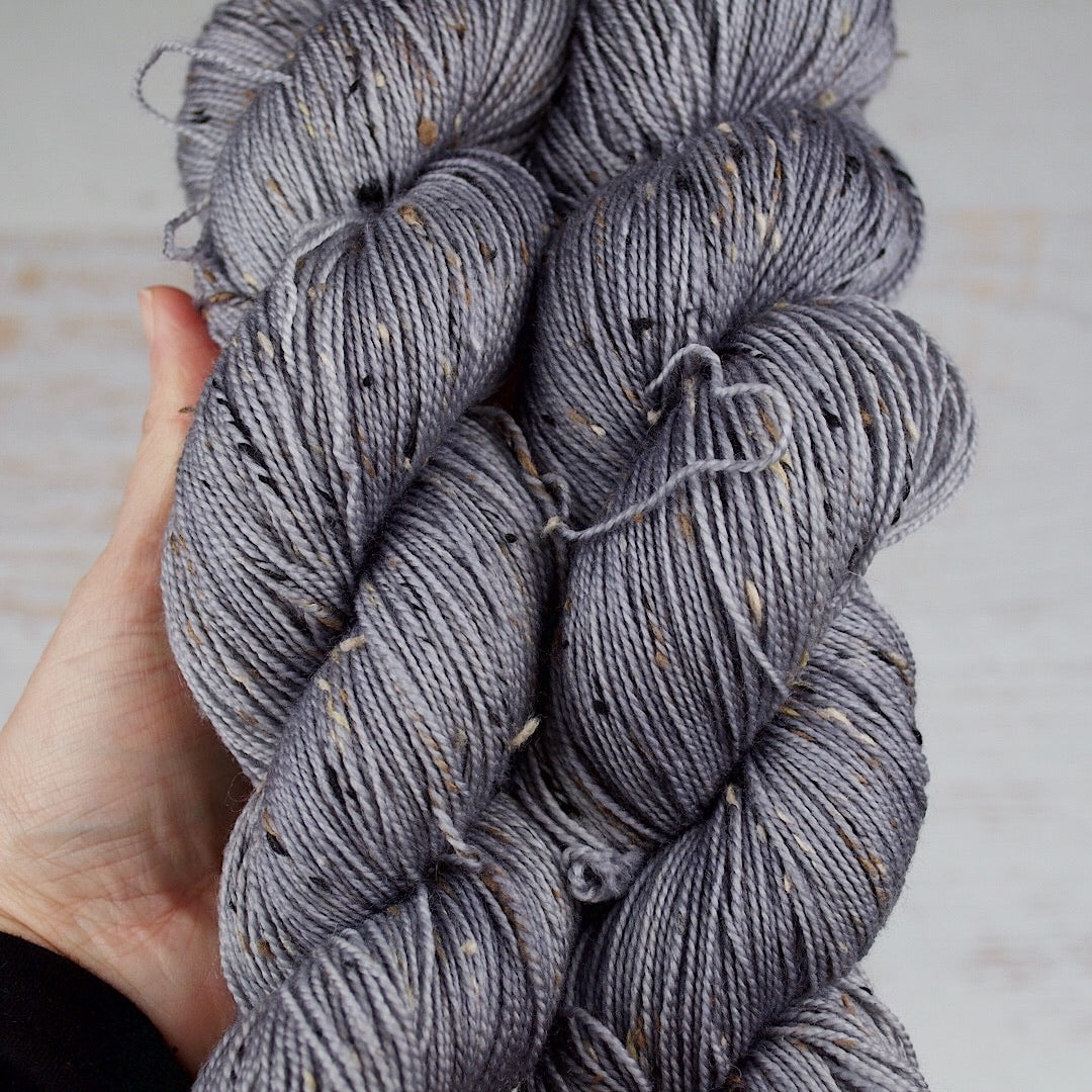 Basic Grey - Donegal Sock