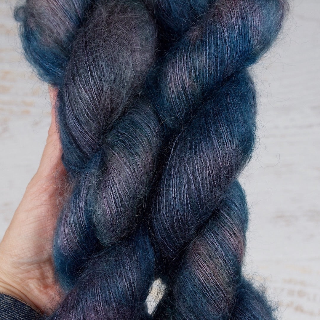 Rain Dance - Mohair Silk Lace