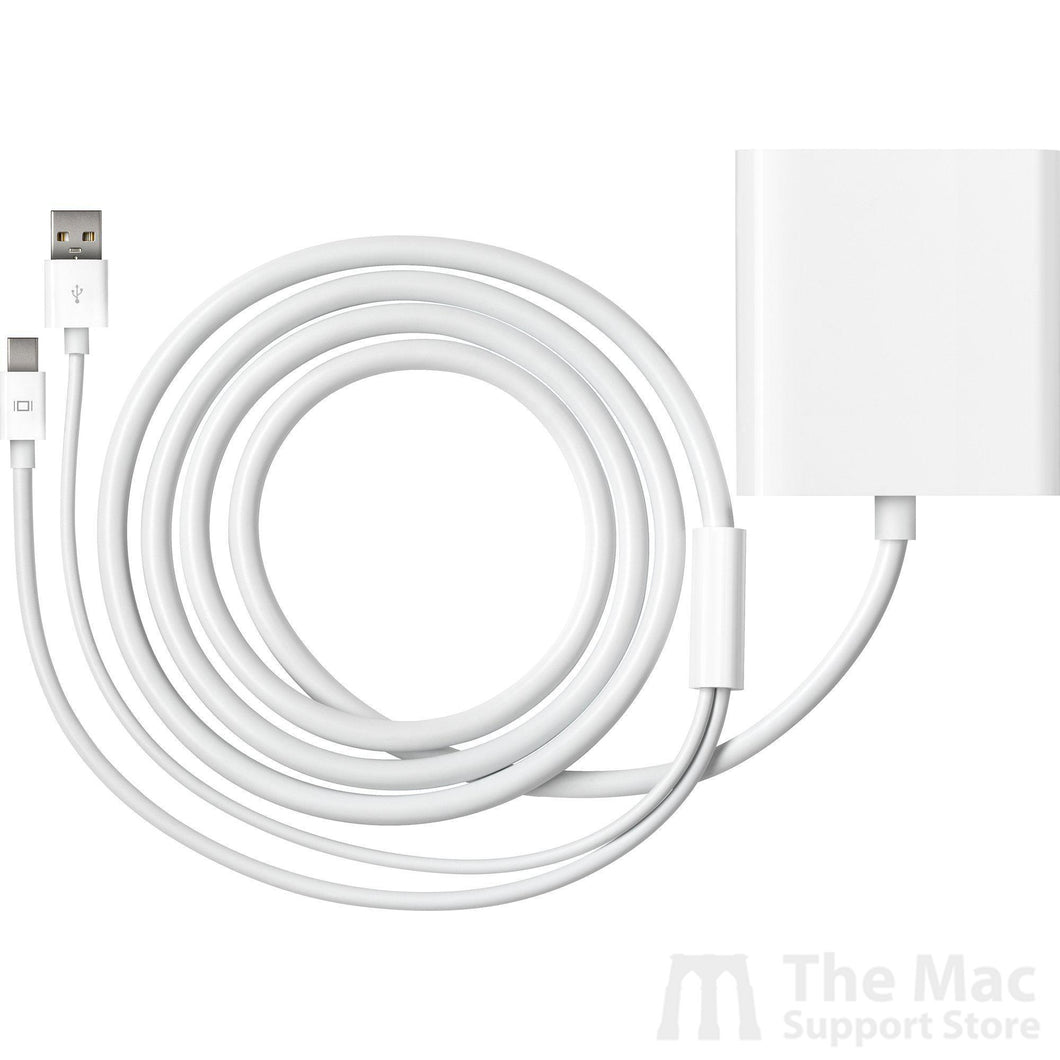 Apple Mini DisplayPort to Dual-Link DVI Adapter (Used)-The Mac Support Store