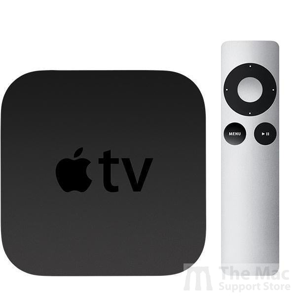 Apple TV (2nd Generation) with Remote (Refurbished)-The Mac Support Store