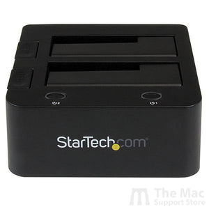 eSATA USB to SATA Hard Drive Docking Station for Dual 2.5 or 3.5in HDD-The Mac Support Store