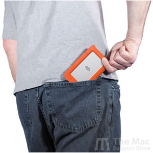 LaCie 2TB Rugged Mini USB 3.0 External Hard Drive-The Mac Support Store