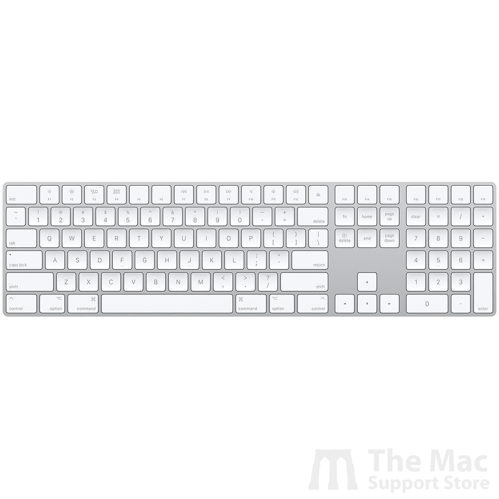Magic Keyboard with Numeric Keypad - US English - Silver-The Mac Support Store