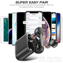 Load image into Gallery viewer, T6 True Wireless Stereo Headphones-The Mac Support Store