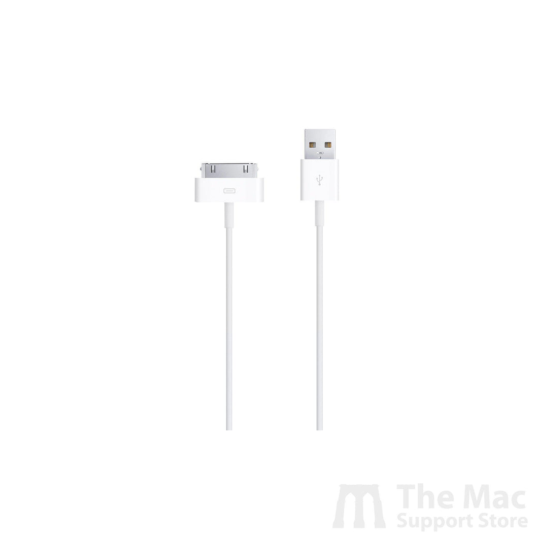 Used Apple 30-Pin to USB Cable (3.3')-The Mac Support Store