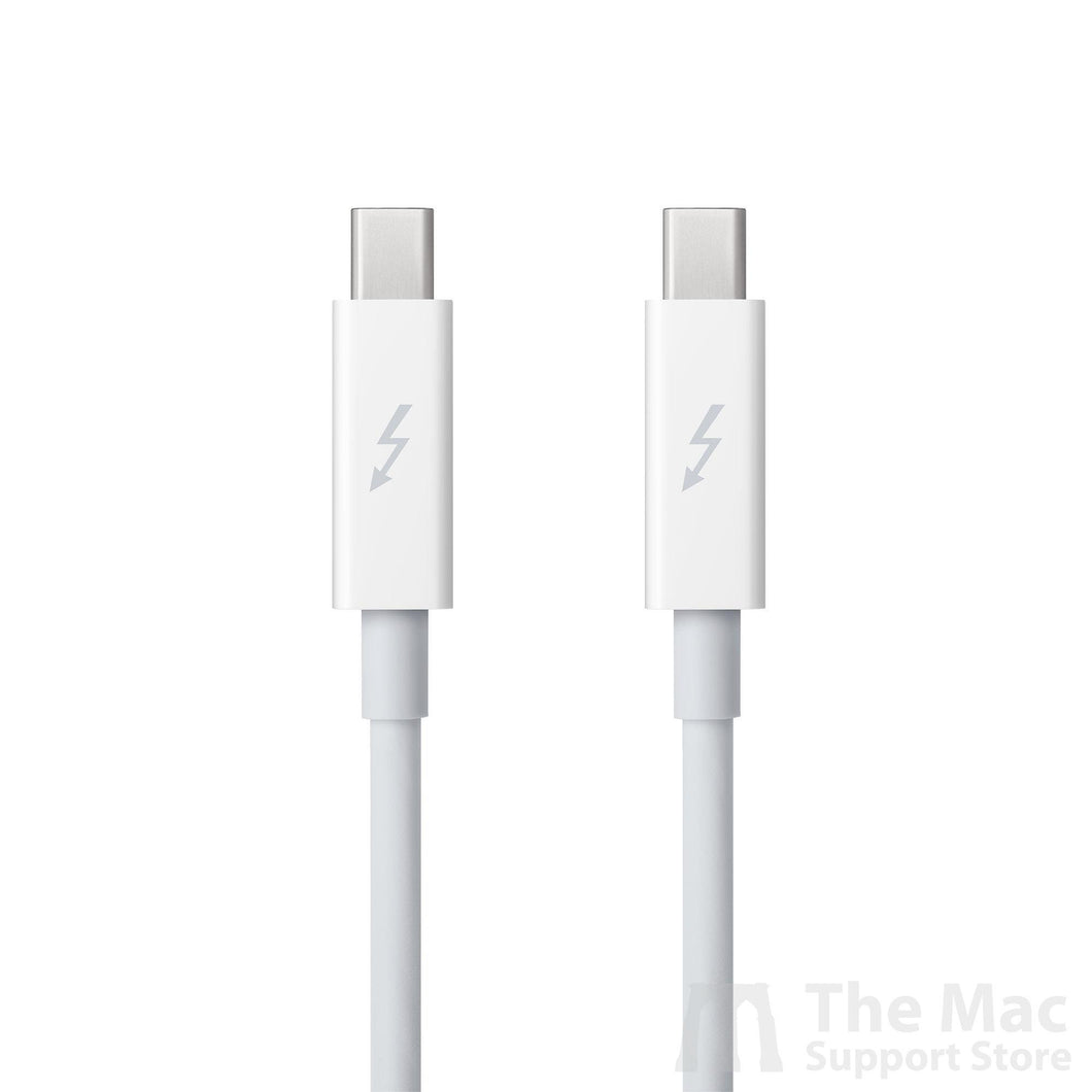 Used Apple Thunderbolt Cable (2.0 m) - White-The Mac Support Store