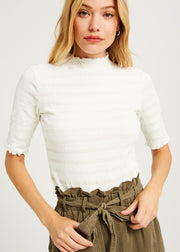 Florida Ruffled Top (3 Colors)