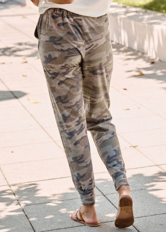 Get to Marching Camouflage Joggers