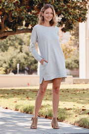 French Terry Tunic Dress